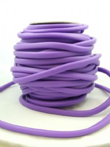 Funky Rubber 10x7mm Purple (metre)